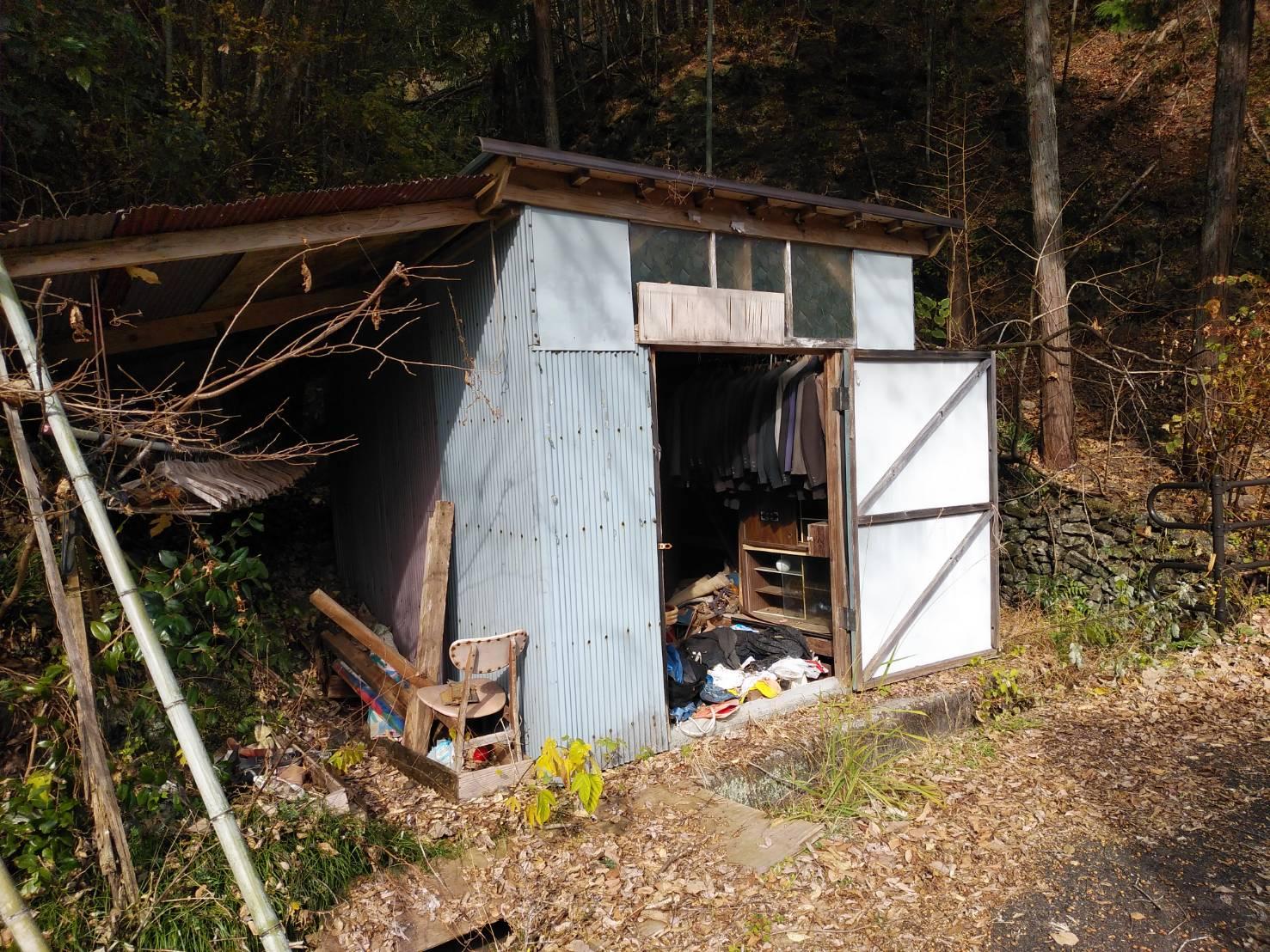 吾川郡 整理 解体作業